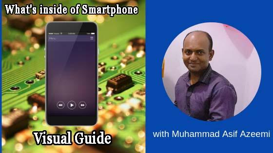 Visual Guide inside of Smartphones
