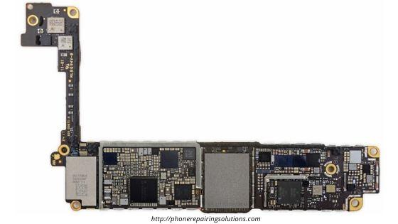 Apple iPhone 8 board bottom view