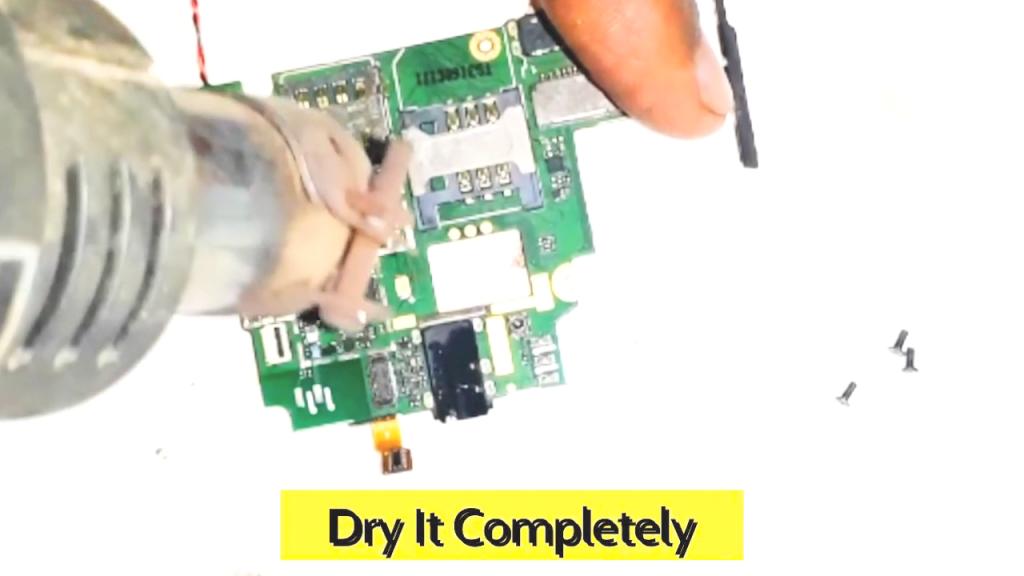 how to repair short circuit phone