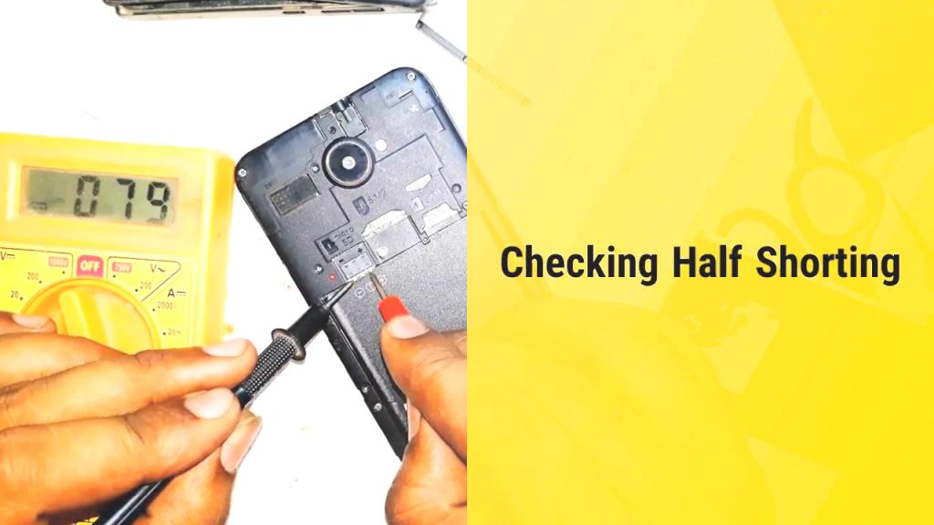 half short mobile repair